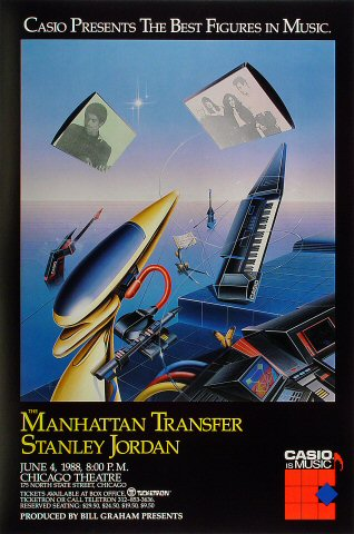 Manhattan Transfer Poster