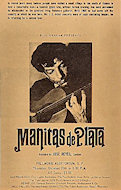Manitas de Plata Handbill