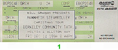 Mannheim Steamroller1990s Ticket