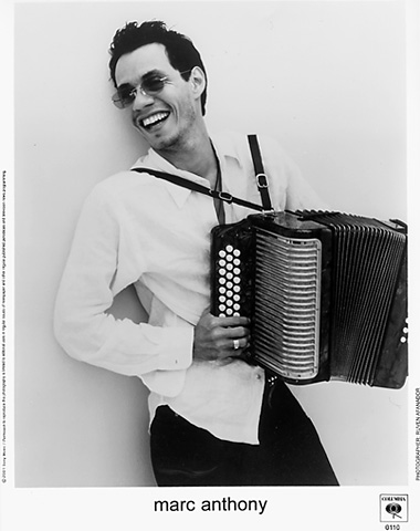 Marc Anthony Promo Print