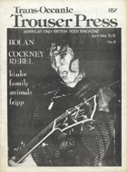 Marc Bolan Trouser Press Magazine