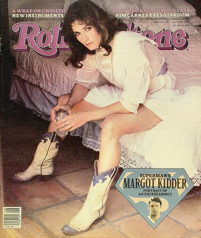 Margot Kidder Rolling Stone Magazine
