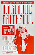 Marianne Faithfull Poster