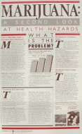 Marijuana: A Second Look at Health Hazards Program