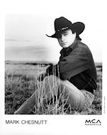 Mark Chesnutt Promo Print