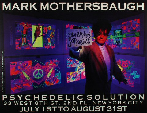 Mark MothersbaughPoster
