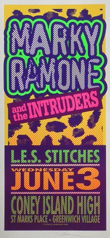 Marky Ramone and the Intruders Poster