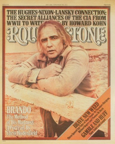 Marlon BrandoRolling Stone Magazine