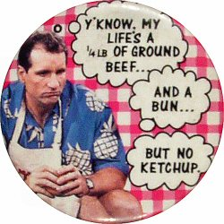 Married With Children Vintage Pin