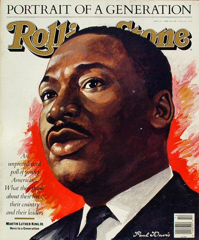 Martin Luther King Jr. Rolling Stone Magazine