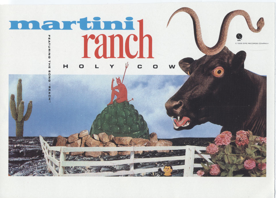 Martini Ranch Handbill