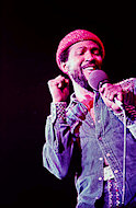 Marvin Gaye Fine Art Print