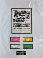 Marvin Gaye Vintage Ticket