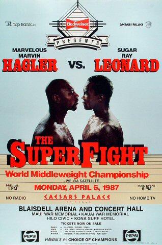 Marvin Hagler Poster