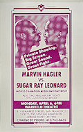 Marvin Hagler Poster