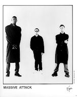 Massive Attack Promo Print