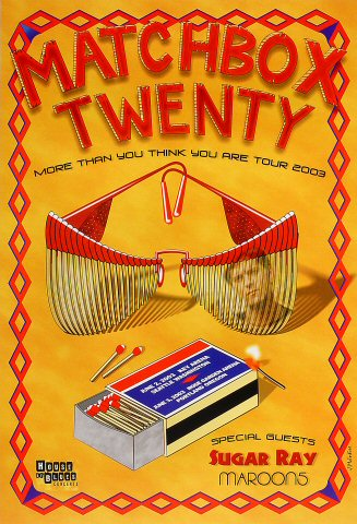 Matchbox Twenty Poster