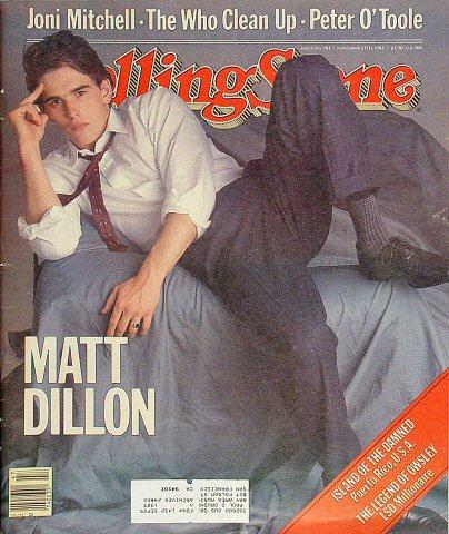 Matt DillonRolling Stone Magazine