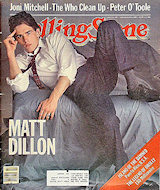 Matt Dillon Rolling Stone Magazine