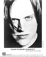 Matthew Sweet Promo Print