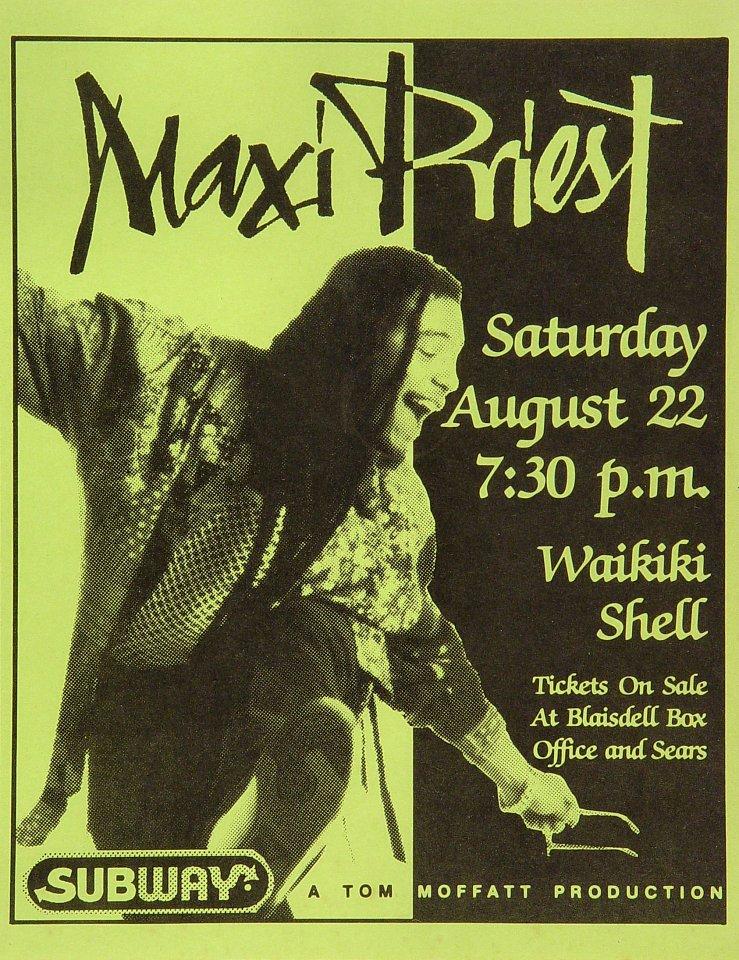Maxi PriestHandbill