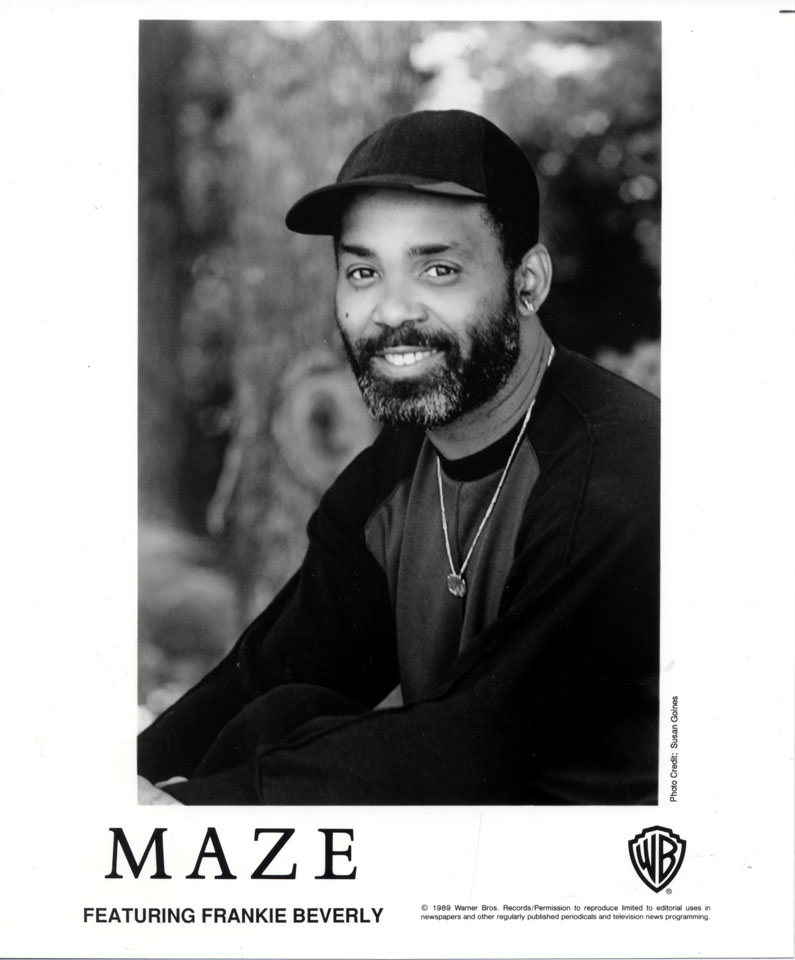 MAZE Featuring Frankie Beverly While Im Alone Color Blind
