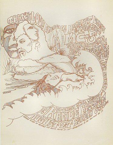 MC5 Handbill