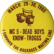 MC5 Vintage Pin