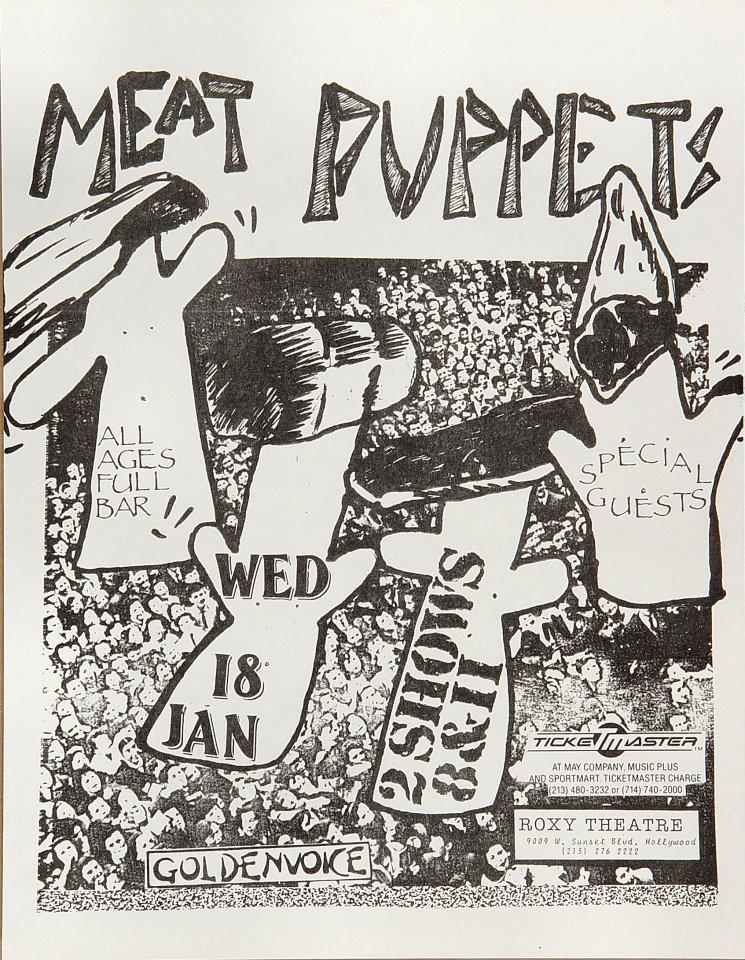 Meat Puppets Handbill