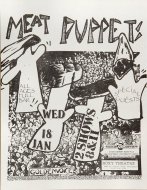 Meat Puppets Handbill