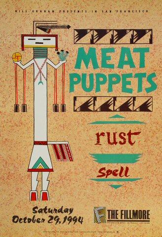 Meat Puppets Poster