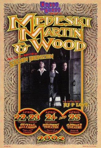 Medeski Martin &amp; Wood Poster