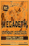 Megadeth Poster