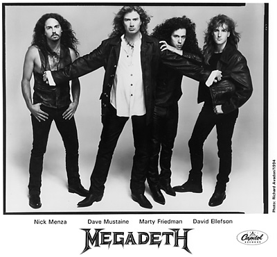 MegadethPromo Print