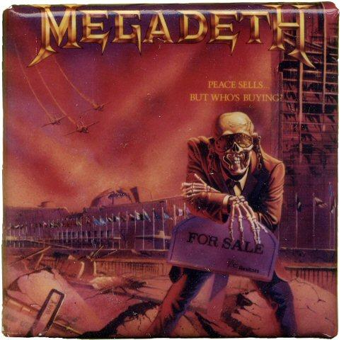 MegadethVintage Pin