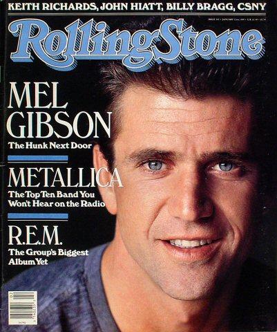 Mel GibsonRolling Stone Magazine