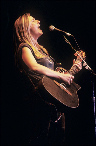 Melissa EtheridgeBG Archives Print