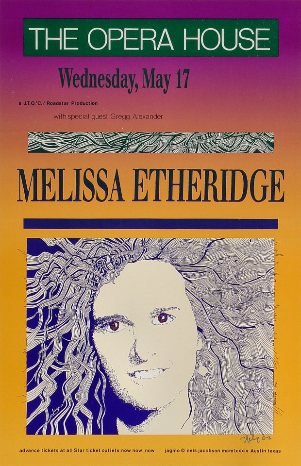 Melissa Etheridge Poster