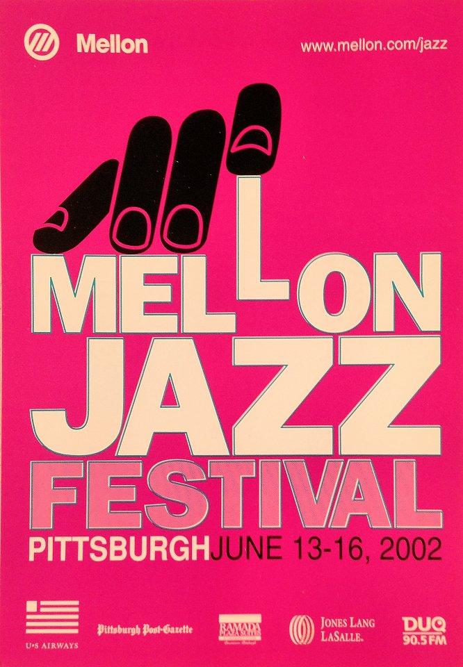 Mellon Jazz Festival Postcard