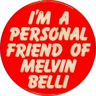 Melvin Belli Pin