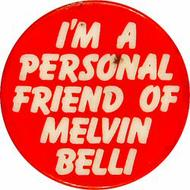 Melvin Belli Vintage Pin