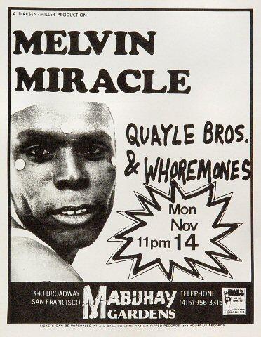 Melvin MiracleHandbill
