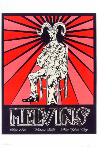 Melvins Poster