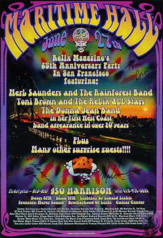 Merl Saunders and the Rainforest BandPoster