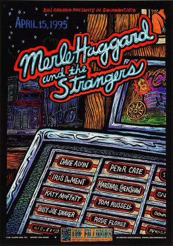 Merle Haggard &amp; The StrangersPoster