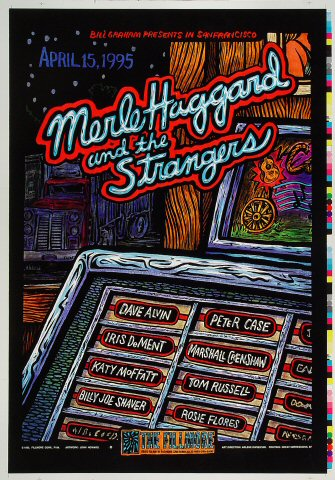 Merle Haggard & The Strangers Proof