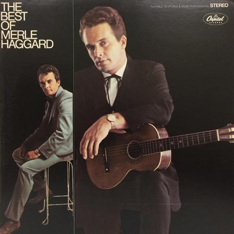 Merle Haggard Vinyl (Used)