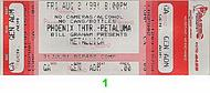 Metallica 1990s Ticket