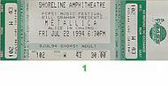 Alice in Chains 1990s Ticket