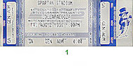 Soundgarden Vintage Ticket